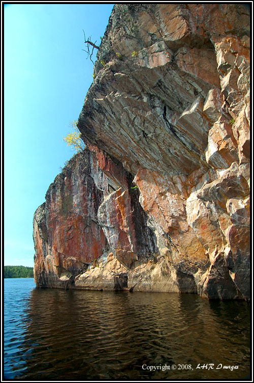 Pictograph Cliffs -- Crooked Lake